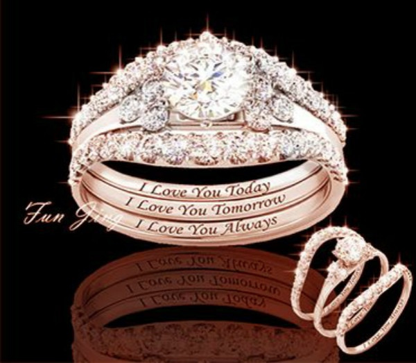 Fashion, gold, Classics, promise rings