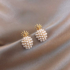 Fashion, Jewellery, Pearl Earrings, Stud Earring