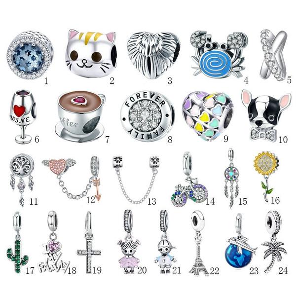 necklacebead, Beaded Bracelets, Fashion, 925 sterling silver
