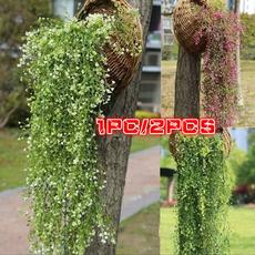 hangingbasket, orchidrattan, artificialdecorative, vinefakegreenery