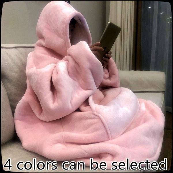 Fleece, hooded, Pullovers, Sweatshirts