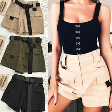Summer, Shorts, high waist shorts, high waist