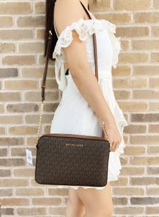 Handbags, brown, eastwest, purses