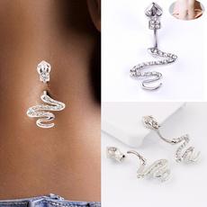 Steel, Decor, navel rings, Jewelry