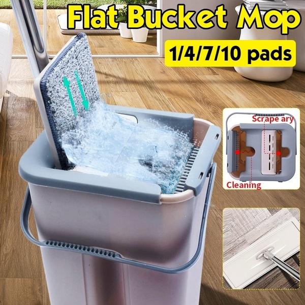 flatbucketmop, flatsqueezemop, Stainless Steel, wringingmop