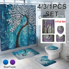 Shower, Bathroom, Bathroom Accessories, Oil Painting