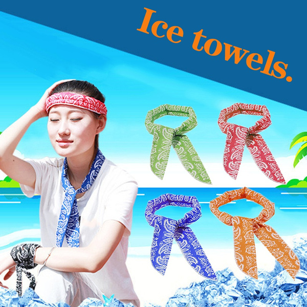 Summer, Fashion, Towels, Necks