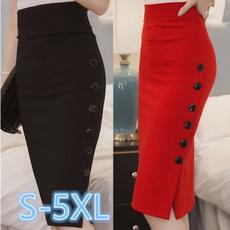 plussizeskirt, pencil skirt, partydressesforwomen, high waist