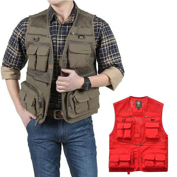Summer, Vest, Outdoor, Jacket