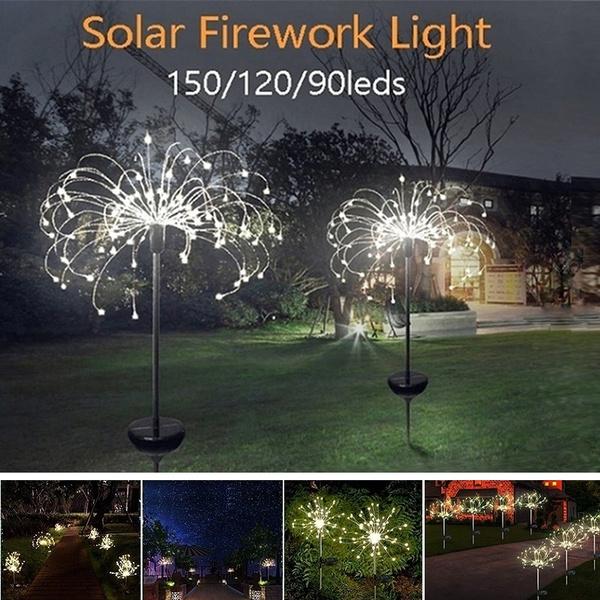 Outdoor, fireworklight, solarlightsoutdoor, lightsamplighting