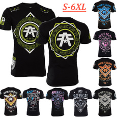 Tops & Tees, Fashion, Graphic T-Shirt, americanfighter