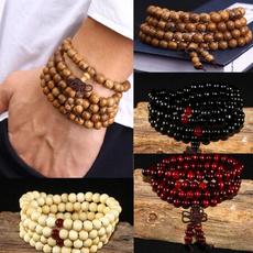 sandalwood, 8MM, prayerbeadsbracelet, Jewelry