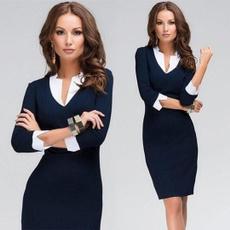 slim dress, workweardre, Fashion, Office