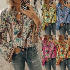 blouse, Plus Size, ladiesflowersblouse, long shirt