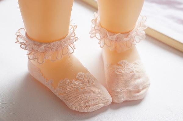 laceopeningdesign, Summer, infantthinsock, Lace
