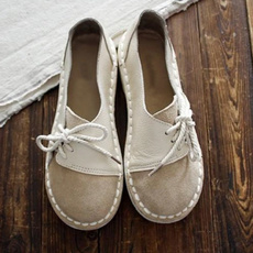 casual shoes, Flats, Flats shoes, Lace