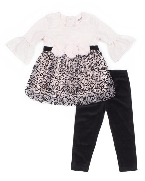Leggings, Fashion, velvet, littlela