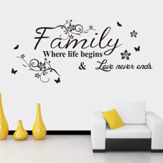 pvcsticker, Home Decor, Family, Waterproof