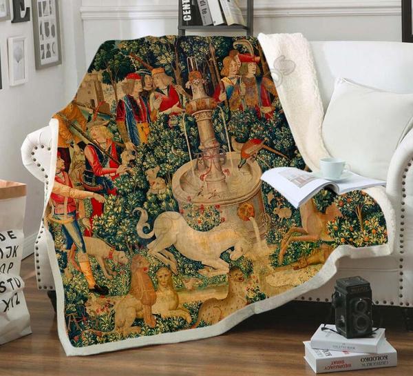 Blankets & Throws, Fleece, Fashion, Picnic