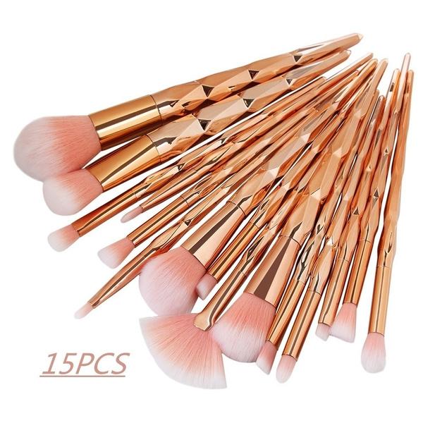 Professional Makeup Brush Set, Beauty, Wooden, Makeup