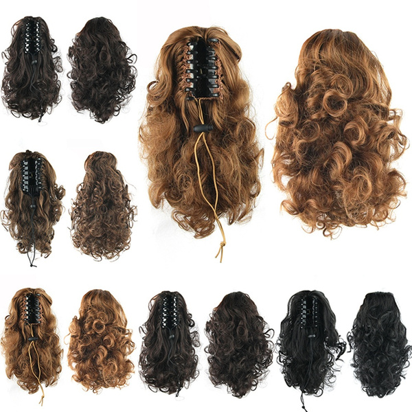 Hairpieces, womenchignon, hairponytail, haircareampstyling