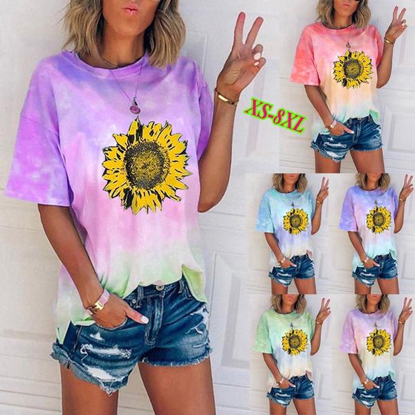 Summer, womens top, Cotton T Shirt, Women Blouse
