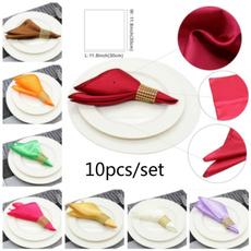 Home & Kitchen, handkerchief, Cloth, Wedding Supplies