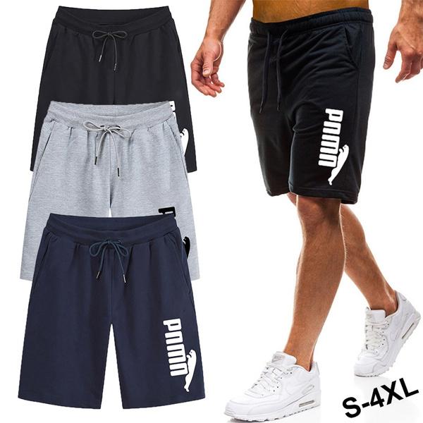 Summer Men S Fashion Sport Short Pants Training Pants Pantalones De Hombre Wish