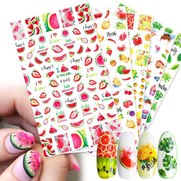 Adhesives, nail stickers, art, Bellezza