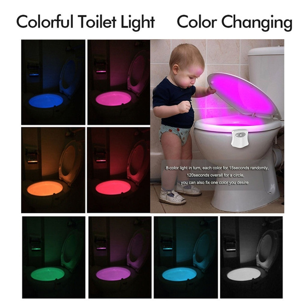 toiletbowl, Bathroom, led, Home Decor