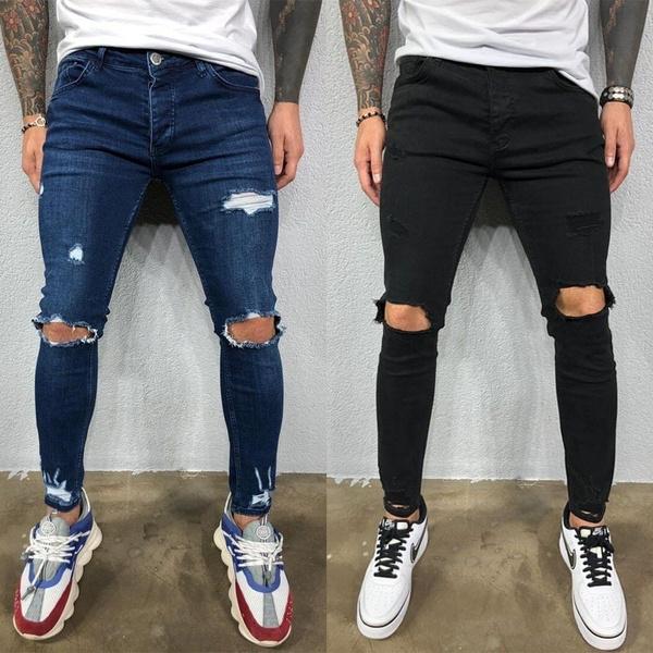 men's jeans, Fashion, skinny pants, pants
