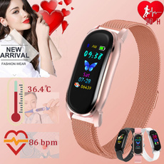 Heart, Fashion, Wristbands, Waterproof