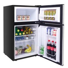 familyrefrigerator, doubledoor, refrigeratorlock, Stainless Steel
