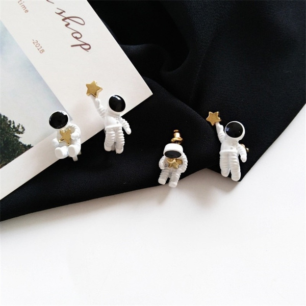 spaceearringsstud, Jewelry, Stud Earring, womanearringsgift