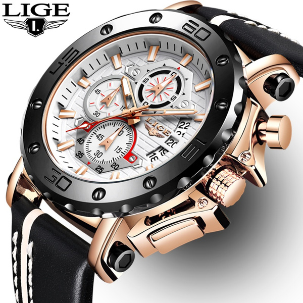 Chronograph, Watches, Fashion, Waterproof Watch