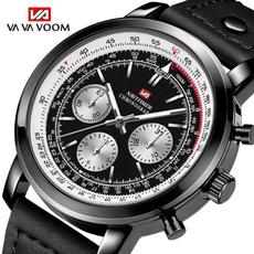 business watch, Waterproof, steel watch, quartz watch
