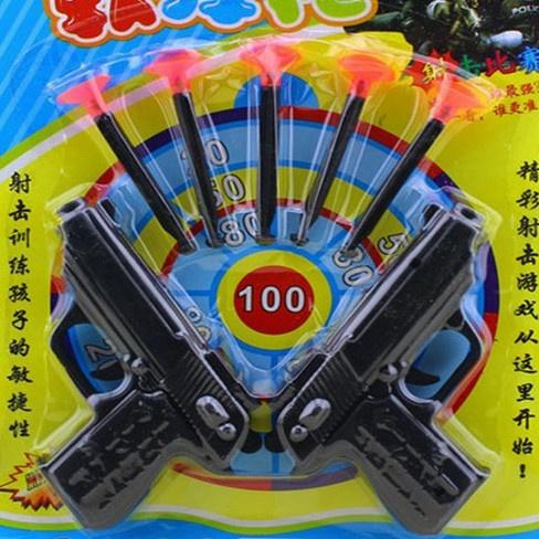 Toy, Bullet, doublegun, suckersoftbulletgun
