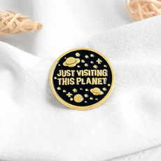Fashion Jewelry, Pins, alien, Space