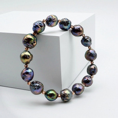 baroquepearl, Pearl Bracelet, Gifts, pearls