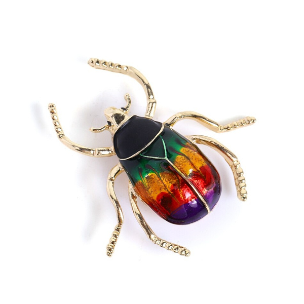 party, beetlebrooch, brooches, Jewelry