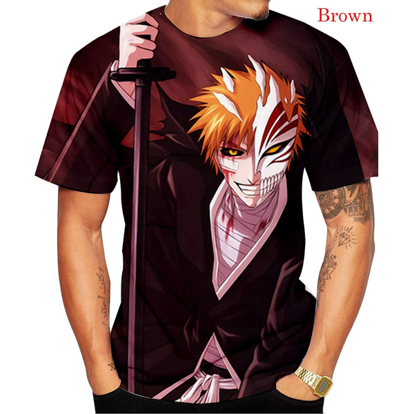 ichigokurosaki, bleachkurosakiichigotshirt, Fashion, Shirt