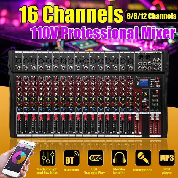 Dj, usb, recordingmixer, Amplifier