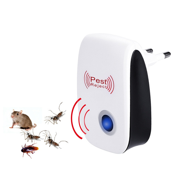 1Pcs Pest Reject Ultrasound Mouse Cockroach Repeller Device Insect Rats Spiders