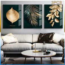 golden, canvasprint, modernstyle, Wall Art