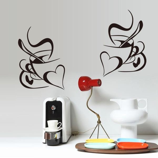Heart, Decor, art, Cup