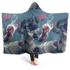 Fleece, hooded, plushthrowblanketblanketwarmthrowchild, Hoodies
