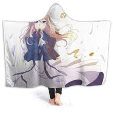 Fleece, hooded, plushthrowblanketblanketwarmthrowchild, Blanket