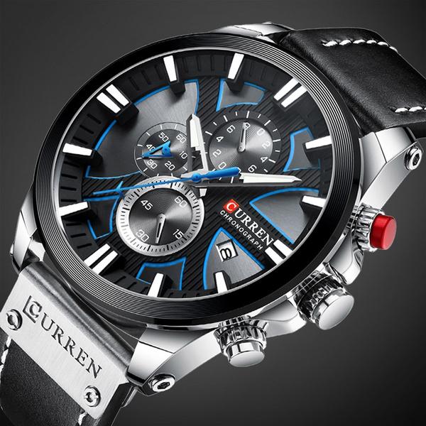 Sports Watch Men, Chronograph, quartz, chronographwatch
