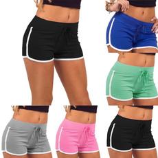 Shorts, Yoga, Waist, Fitness