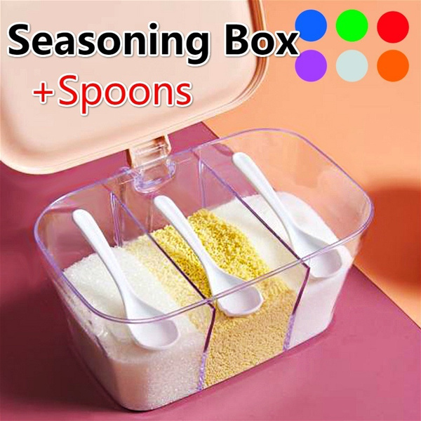 Box, seasoningstoragebox, Kitchen & Dining, spicescontainer